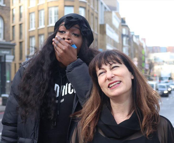 Women rap singers - IWD - C CANE - Janet Taras