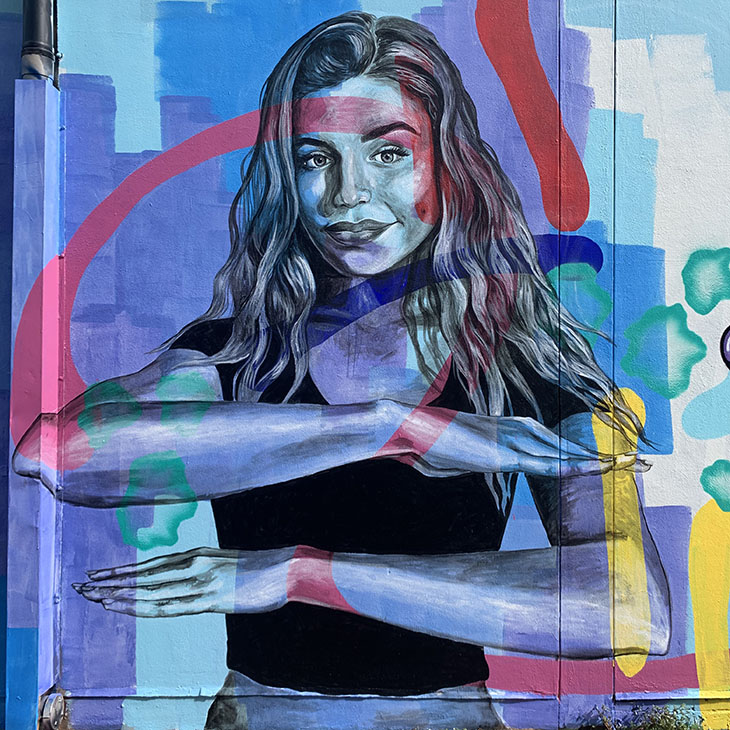 IWD streetart competition