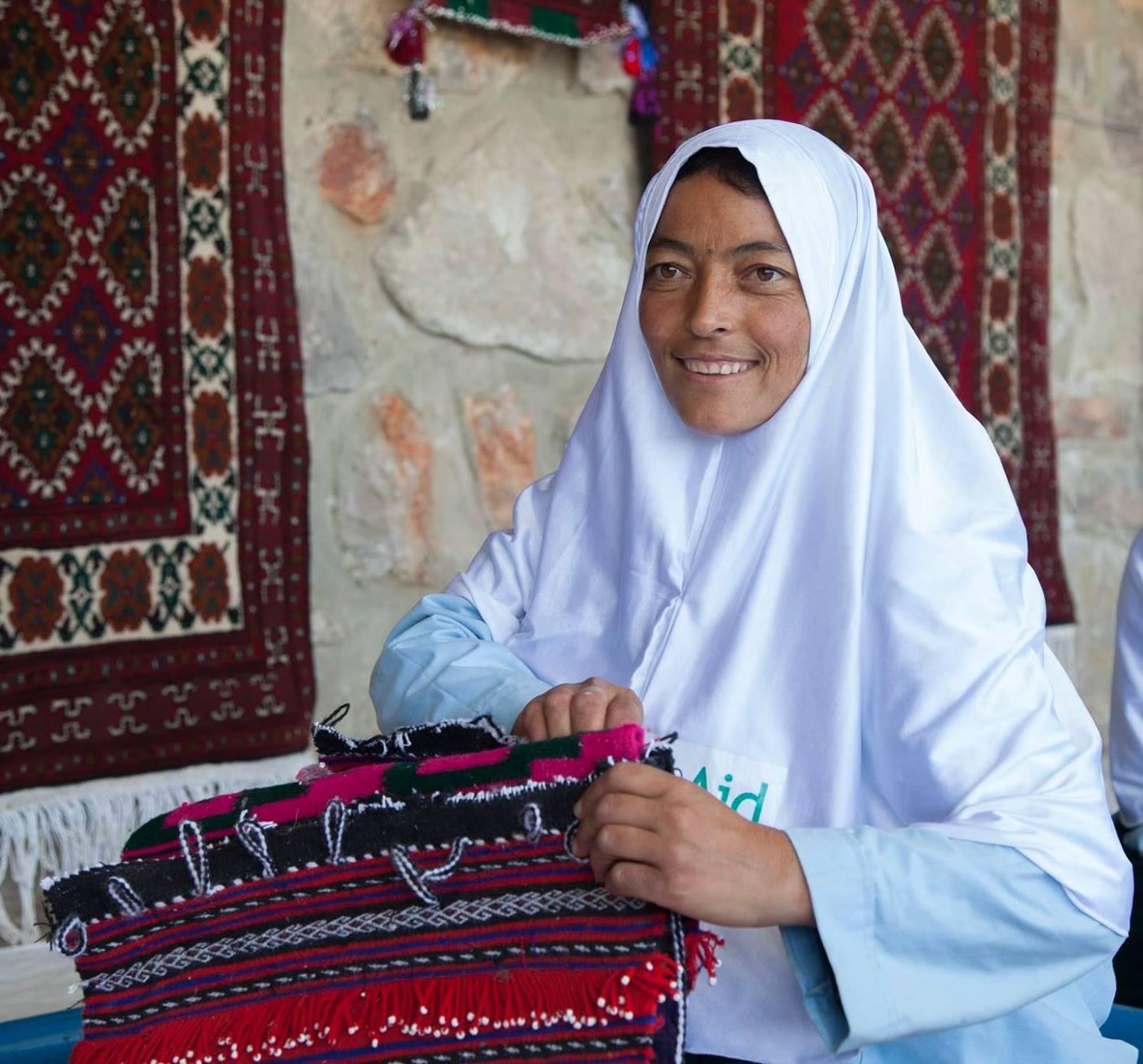 Afganaid helping women IWD