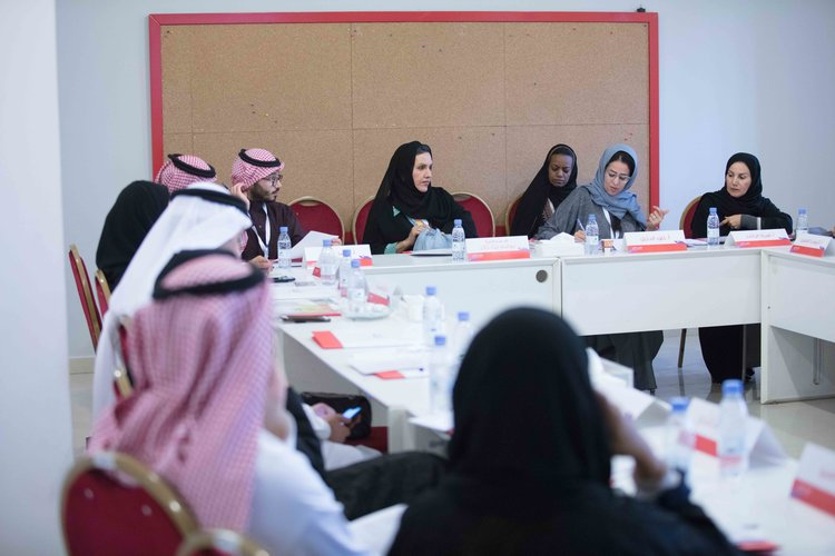 Al Nahda IWD round table Balance for Better