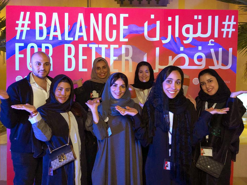 Al Nahda IWD Balance for Better event