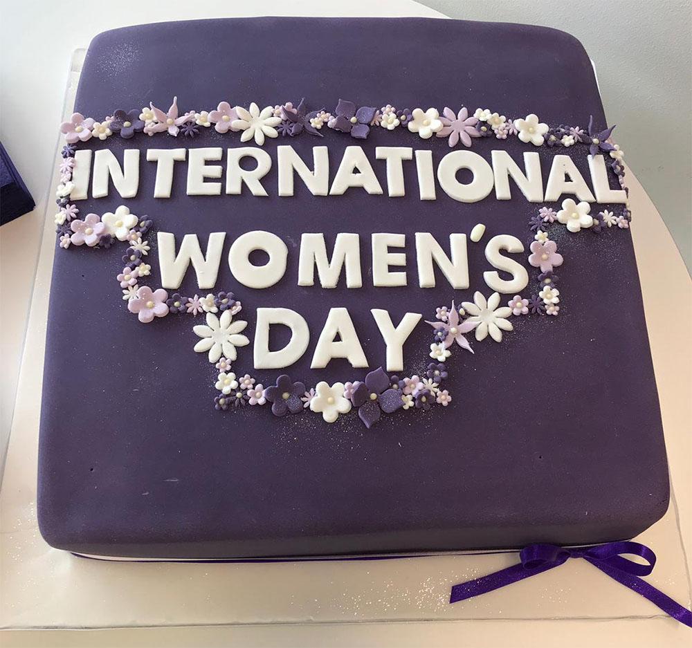 International Women's Day cake Boston Scientific