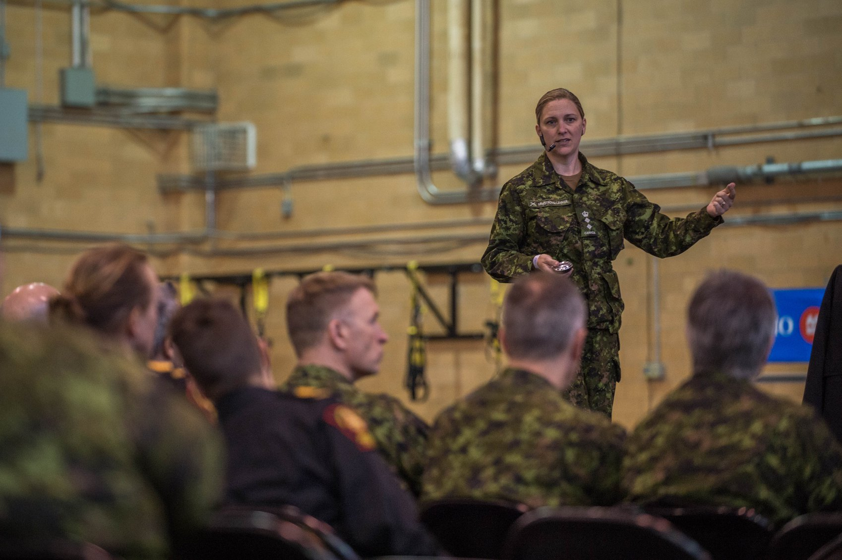 Canadian Forces IWD event