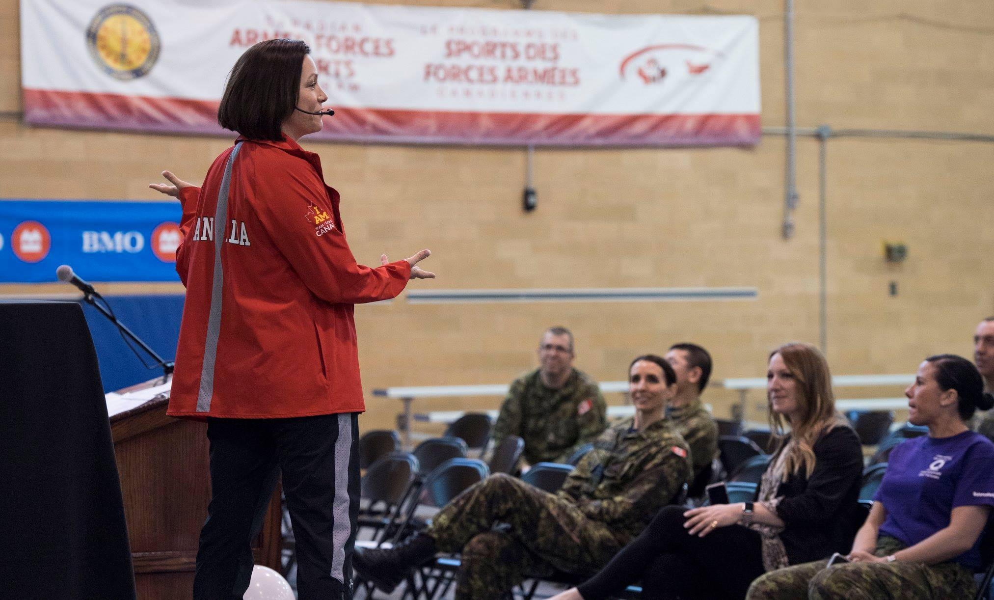 Canadian Forces IWD speaker
