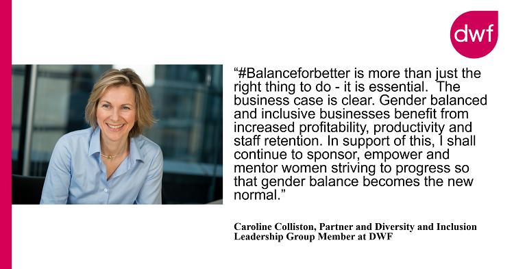 DWF IWD Balance for Better Caroline Colliston