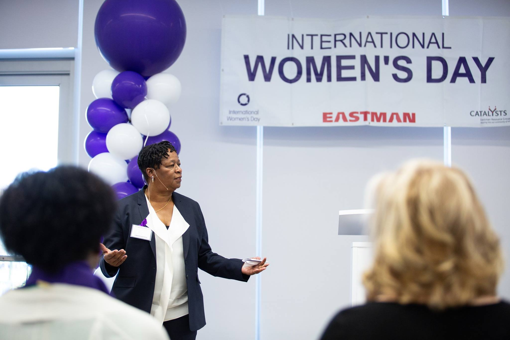 Gail Evans Balance for Better Eastman