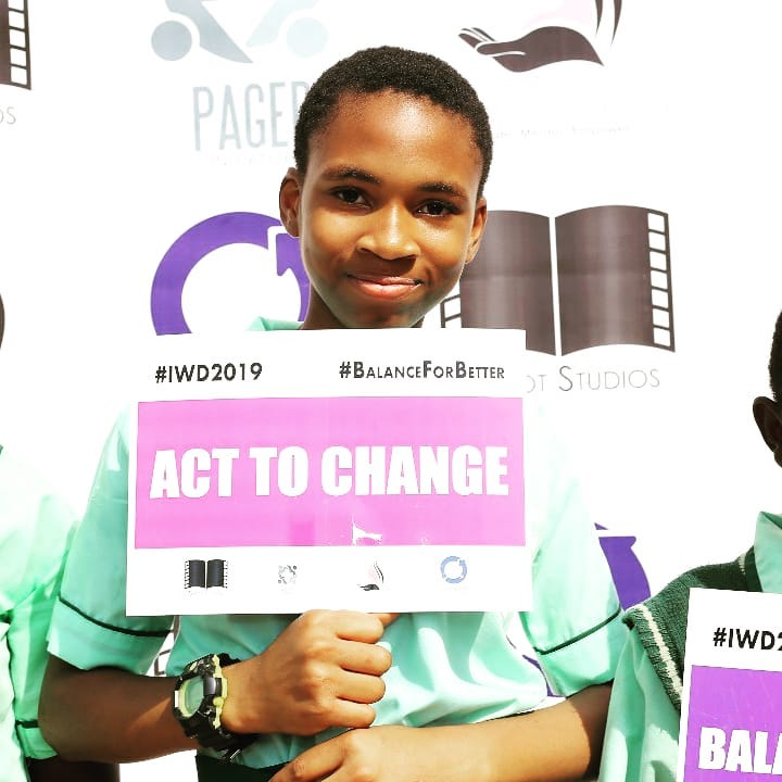 IWD - Give girls a chance