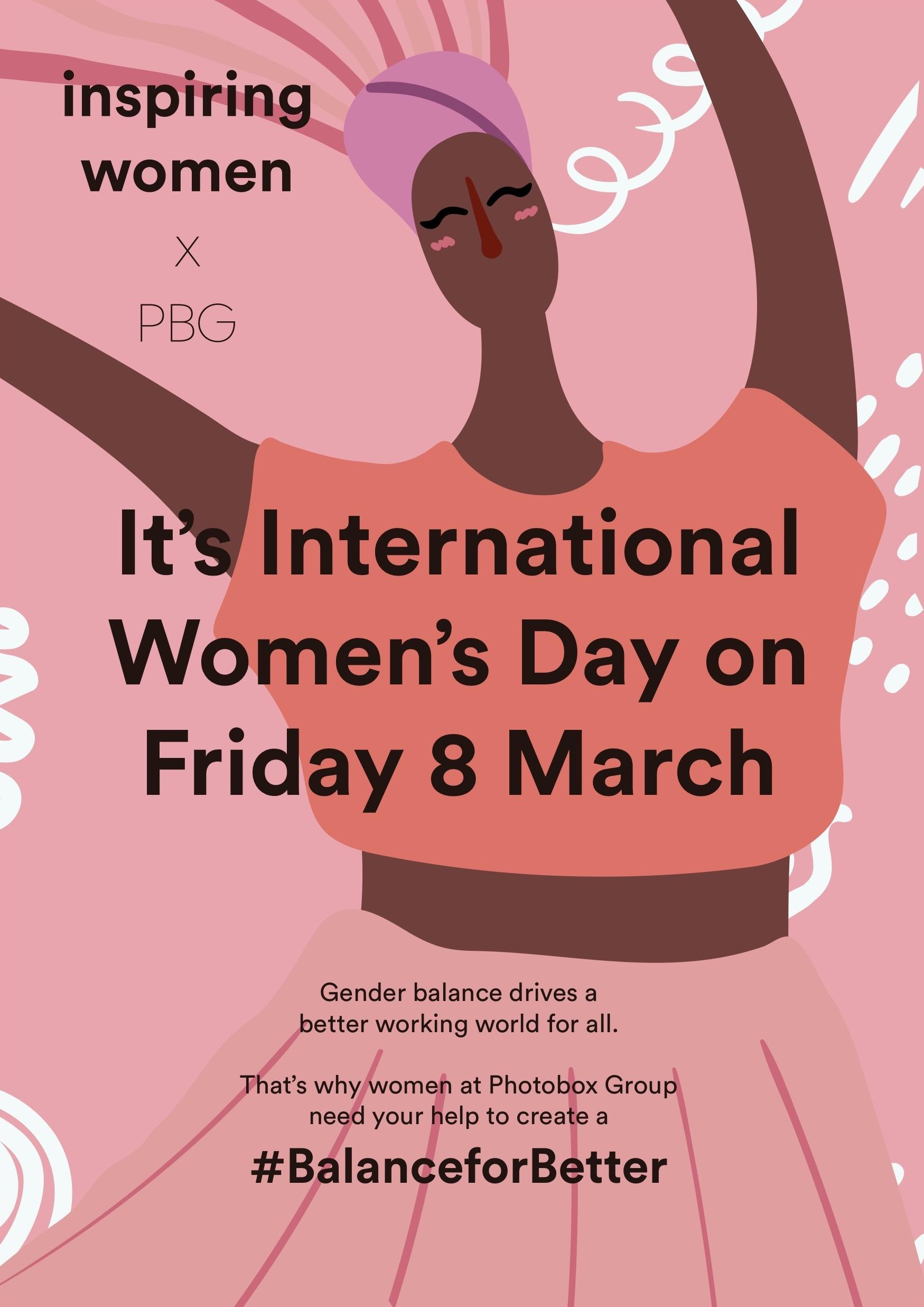 Photobox / Moonpig - International Women's Day