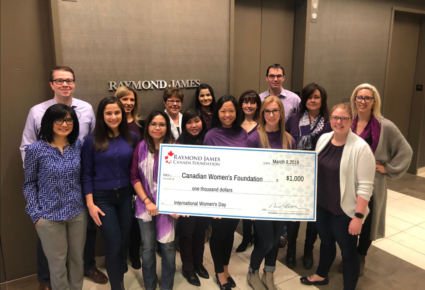 Raymond James Canadian Women's Foundation