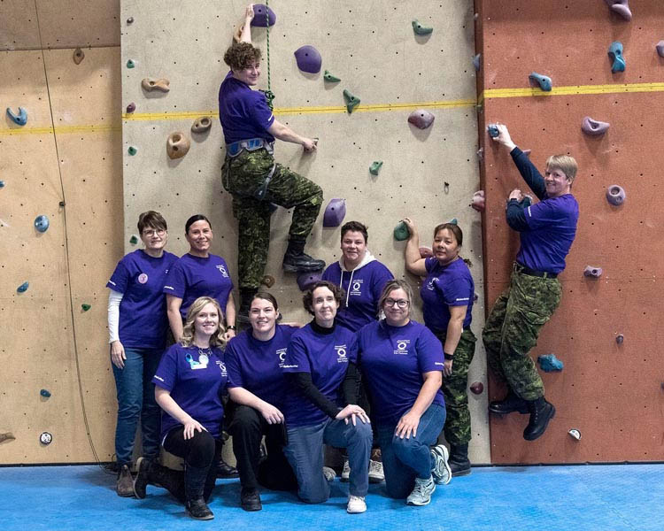 Canadian Forces IWD trade event