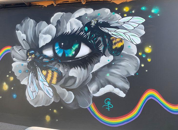 Gembol Street art