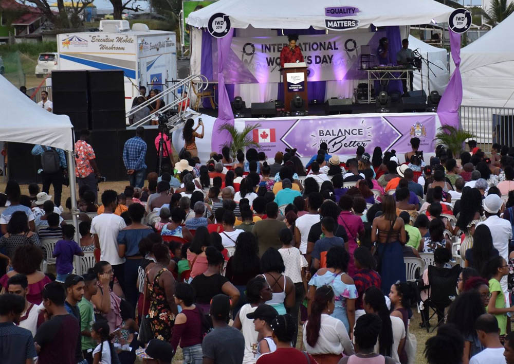 High Commission Canada - Guyana -Women's Day