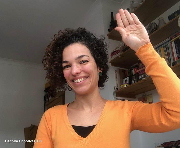 IWD Gabriela Goncalves UK - Brazil