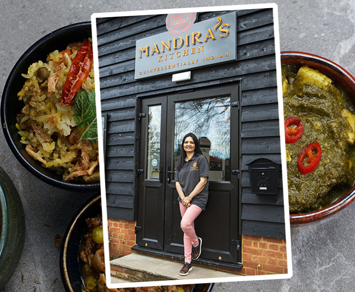 IWD - Mandira's Kitchen indian food - woman owned business - NatWest