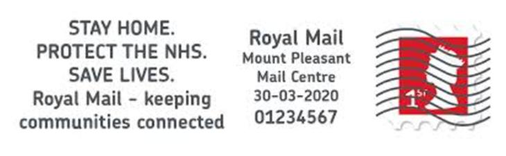 WD Royal Mail - NHS