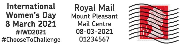 IWD - Royal Mail postmark letter