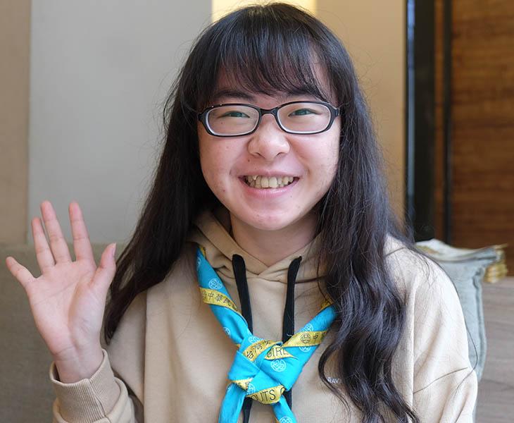 IWD WAGGGS Huang Yi Hsuan