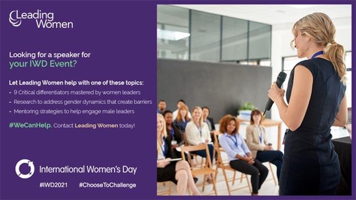 IWD leading women