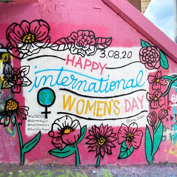 IWD streetart by Artsy Elaine