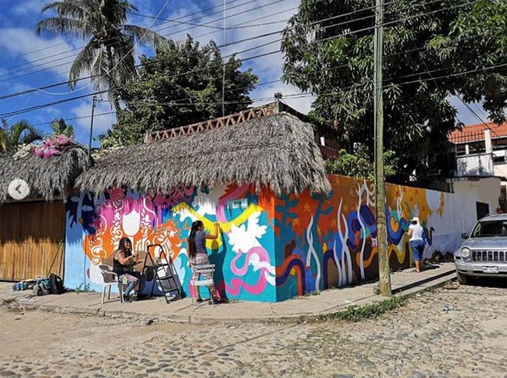 IWD streetart by ms yellow