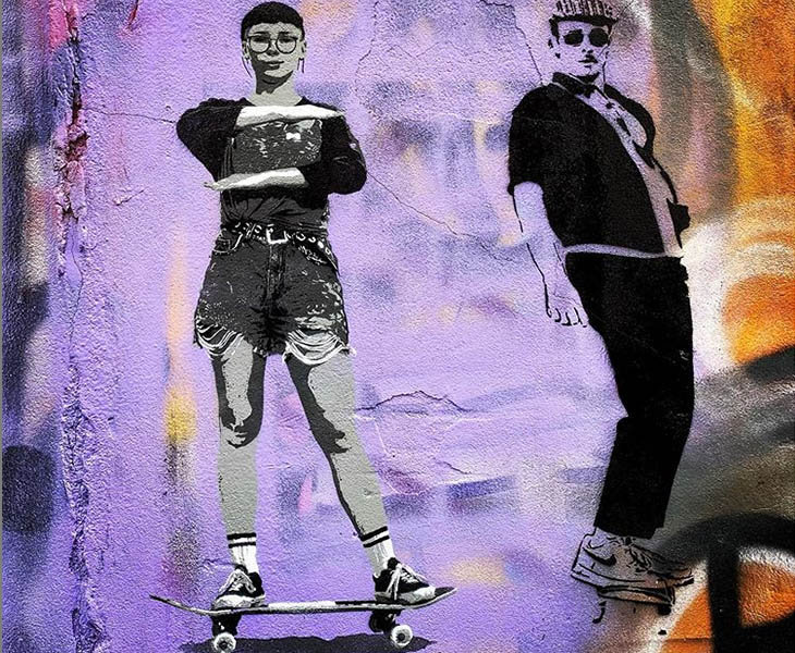IWD streetart theme