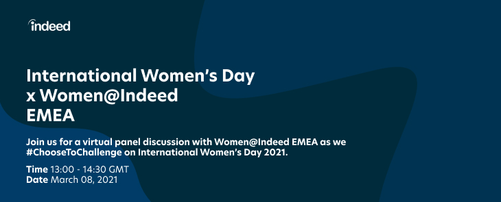 indeed IWD Event