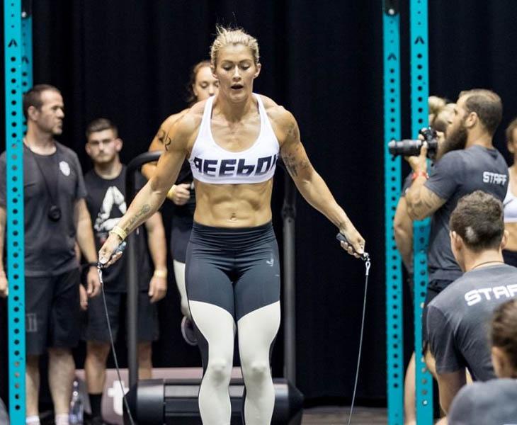 Katelin Van Zyl CrossFit champion