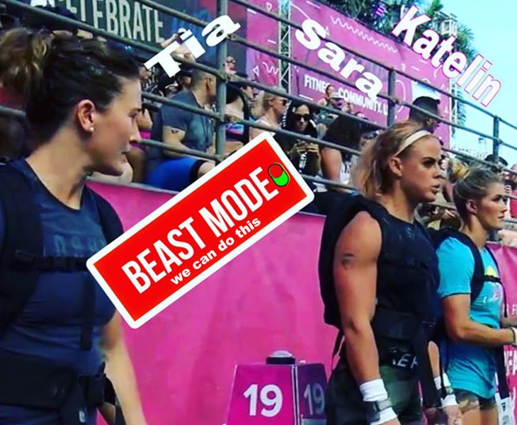 KatelinVanZyl TiaClairToomey SaraSigmundsdottir CrossFit