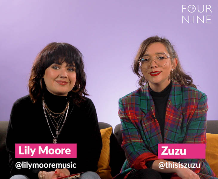 Lily Moore and Zuzu