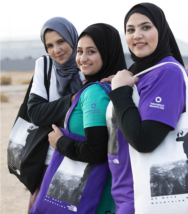 North Face -International Women's Day - Ttshirts and Totes