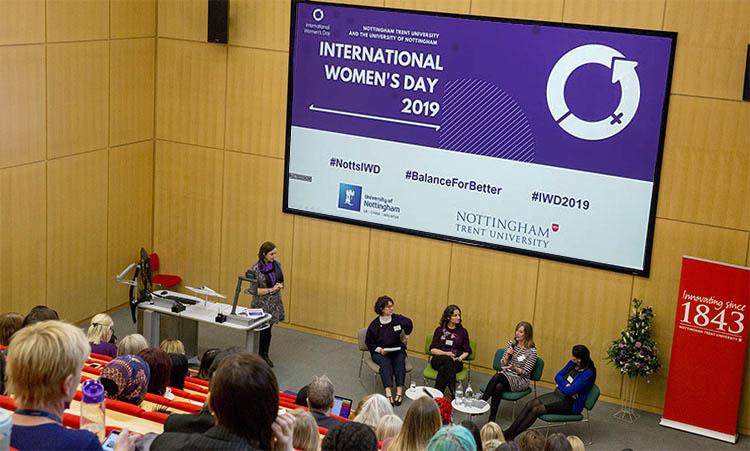 NottinghamTrentUniversity women diversity