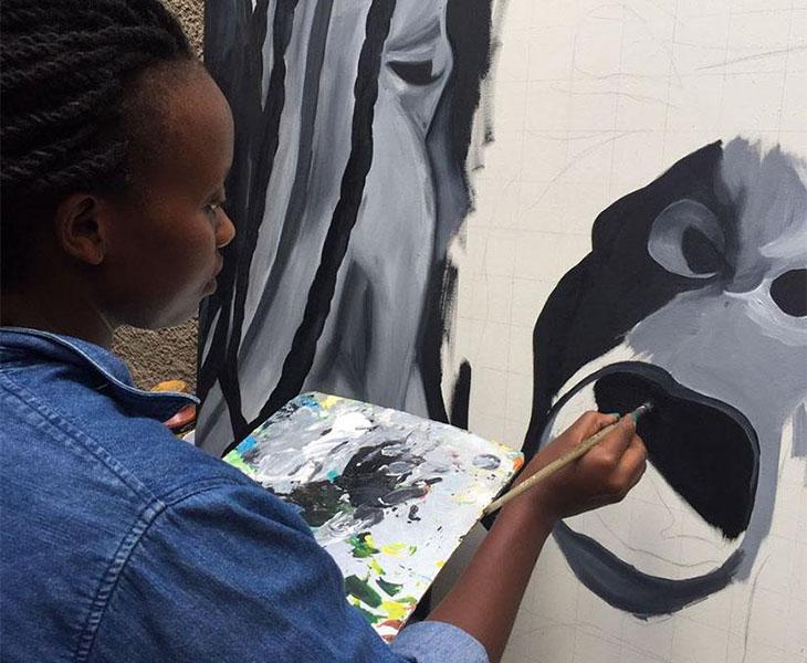 Rwanda Art Museum - Jemima Kakizi