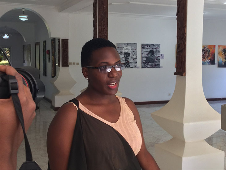 Rwanda Art Museum curator: Chantal Umuhoza