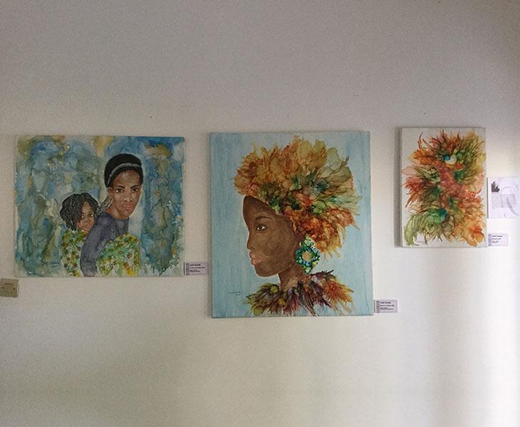 Rwanda Art Museum women artist: Cindi Cassady