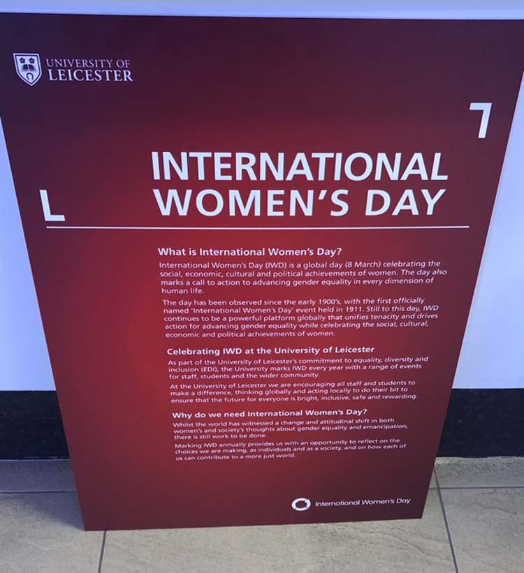 University of Leicester IWD