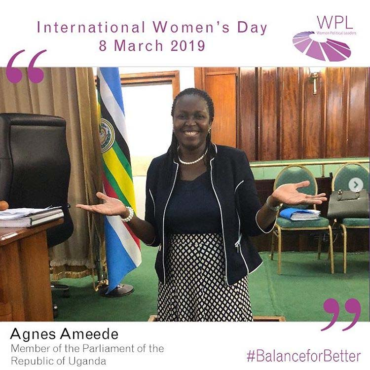 Women Political Leaders - Agnes Ameede