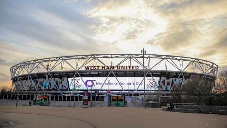 West Ham lights up London Stadium