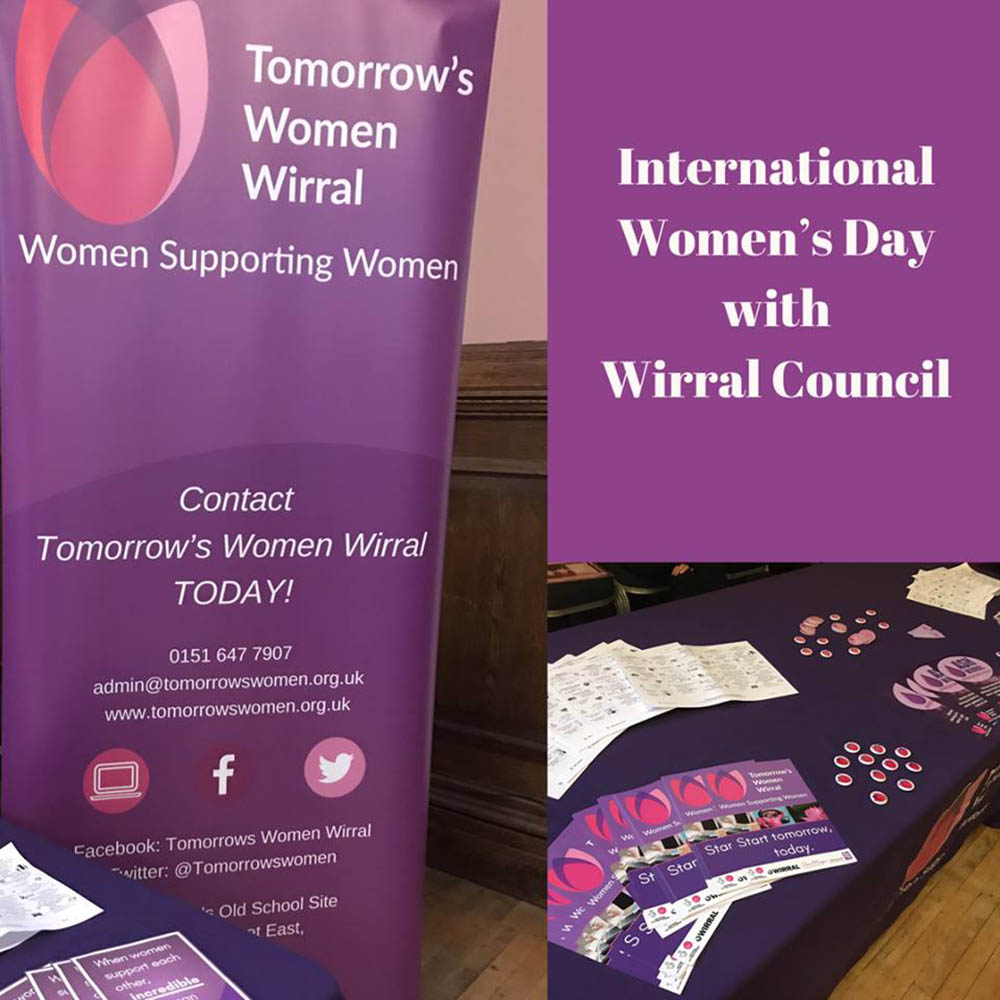 Wirral Cuncil IWD activity