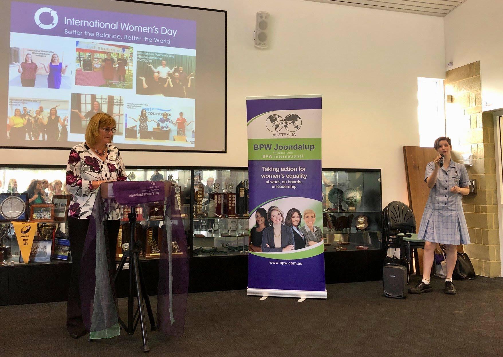 BPW women - Western Australlia - IWD