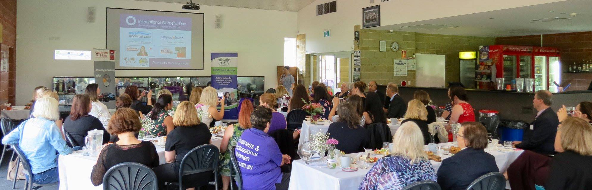 BPW Perth IWD event