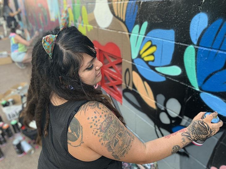 IWD women street artists